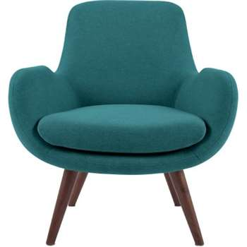Moby Accent Chair, Mineral Blue (64 x 75cm)