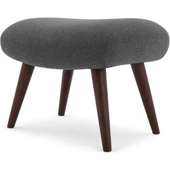 Moby Footstool, Marl Grey (42 x 58cm)