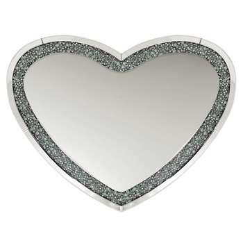 Mocka Heart Mirror (H70 x W90cm)