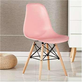 Moda Eiffel Chair, Pink (82 x 47cm)