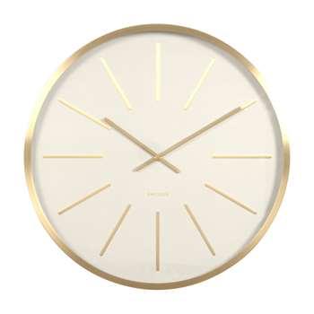 Mode wall clock gold (Diameter 60cm)