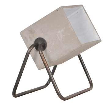 Zuiver Modern Floor Lamp in Concrete (45 x 38cm)