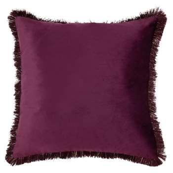 MONA Plum Cushion (H50 x W50cm)