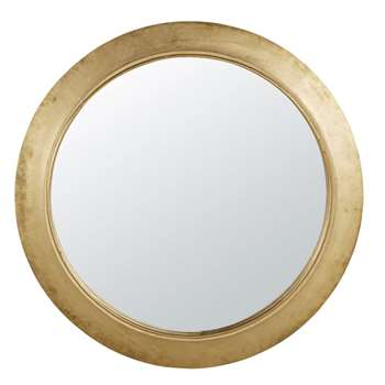 MONICA - Round Golden Mirror (Diameter 150cm)