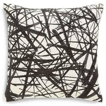Monochrome Line Print Cushion (50 x 50cm)