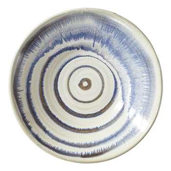 Monrovia Decorative Plate - Blue/White (11 x 37cm)