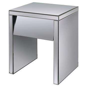 Monte Carlo One Drawer Bedside Table (60 x 45cm)