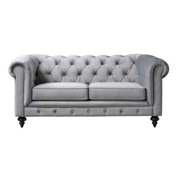 Monty Two Seat Sofa – Dove Grey (H80 x W185 x D99cm)