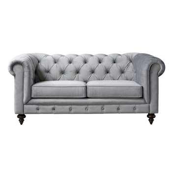 Monty Two Seat Sofa – Dove Grey (H80 x W185 x D99cm)