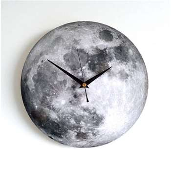 Moon Wall Clock (Diameter 25cm)
