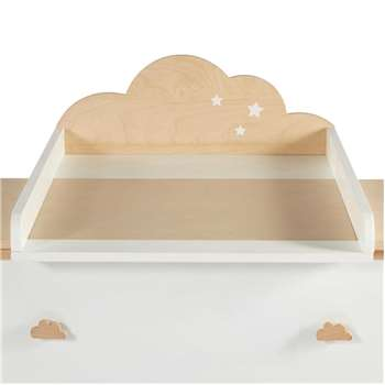 MOONLIGHT Two-Tone Cloud Changing Table (23 x 59cm)