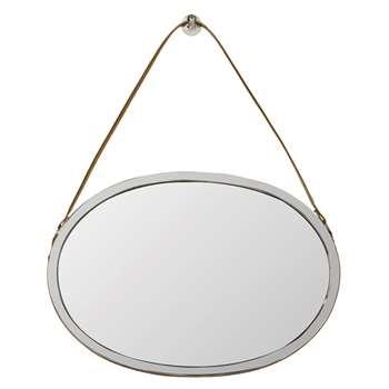 Moratorio Mirror - Silver (55 x 78cm)