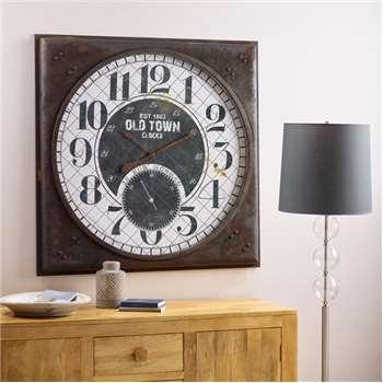 Morillo Wall Clock (H100 x W100 x D7cm)