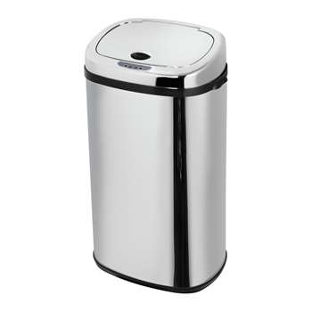 Morphy Richards 42 Litre Sensor Bin - Stainless Steel 63.4 x 33.5cm