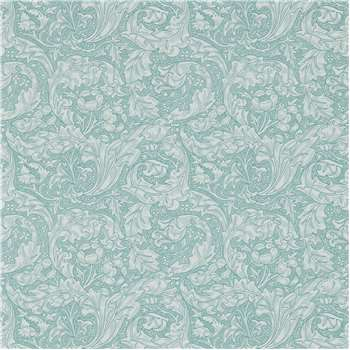 Morris & Co. Bachelor's Button Wallpaper, Blue, DM3W214732 (H1000 x W52cm)