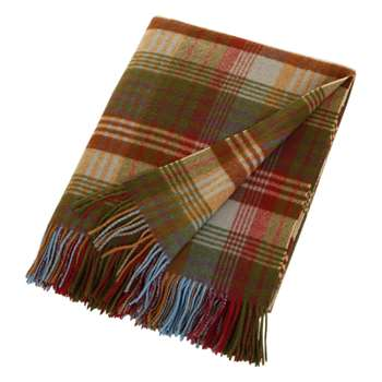 Mulberry Home - Ancient Tartan Lambswool Blanket - (155 x 180cm)