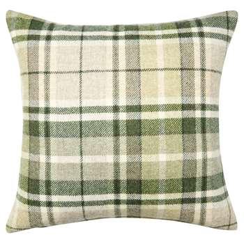 Mulholland Hedgerow Check Wool Cushion