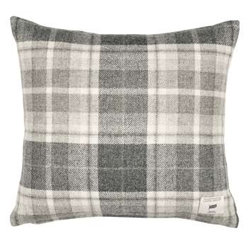 Mulholland Steel Check Cushion