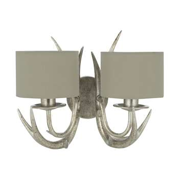 Mulroy 2 Arm Wall Light (21 x 30cm)