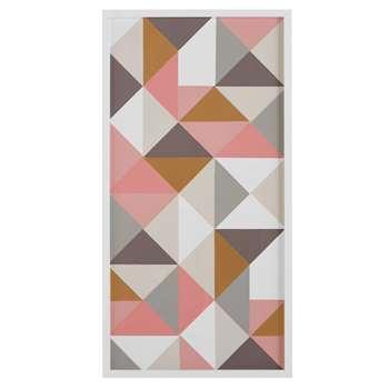 Multicoloured Graphic Artwork (49 x 90cm)