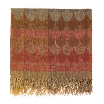 Mundi Linen Blanket, Multicoloured (130 x 160cm)