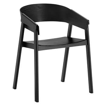 Muuto - Cover Chair - Black (76 x 56.5cm)