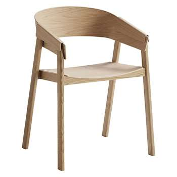 Muuto - Cover Chair - Oak (76 x 56.5cm)