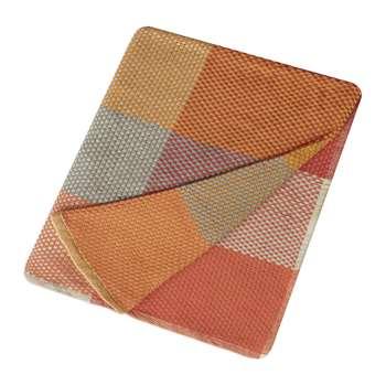 Muuto - Loom Throw - 180x130cm - Tangerine (H130 x W180cm)