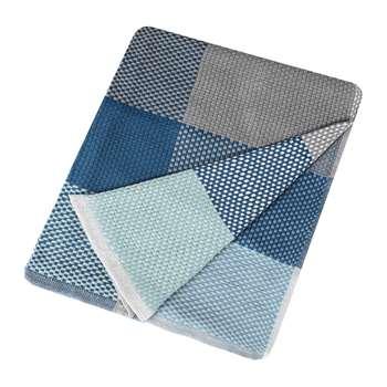 Muuto - Loom Throw - Blue (H180 x W130cm)