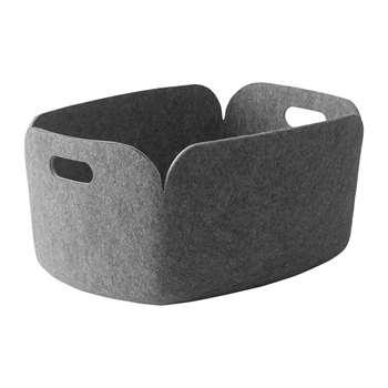 Muuto - Restore Basket - Grey (23 x 48cm)