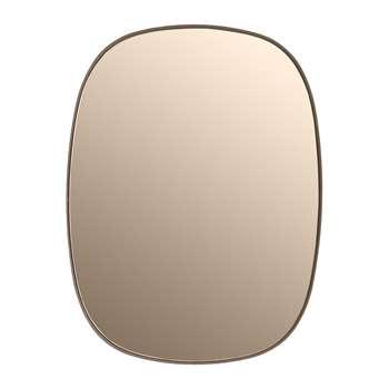 Muuto - Small Framed Mirror - Rose (59 x 44cm)