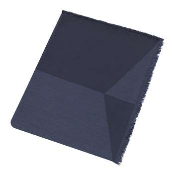 Muuto - Sway Throw - Blue (H180 x W130cm)