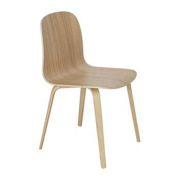 Muuto - Visu Chair - Wood Base - Oak (78.5 x 46cm)