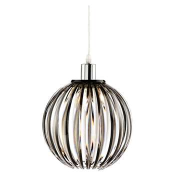 Nantes Pendant Light Shade Smoke (H24 x W24 x D24cm)