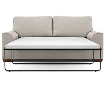 Nantucket Large Sofa Bed, Kodi - Aquaclean, Natural (Sprung) (H132 x W180cm)