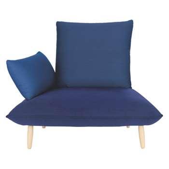 Naoko Blue armchair