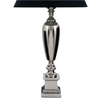 Napier Nickel Lamp Base (59 x 10cm)