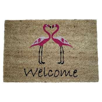 Native Doormats - Flamingo Doormat (H40 x W60cm)