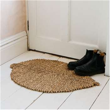 Natural Seagrass Leaf Doormat (H80 x W52 x D3cm)