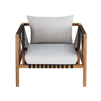 NAXOS Solid Acacia Garden Armchair (68.5 x 90cm)