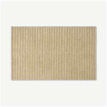 Naylor Textured Wool Rug, Ecru Stripe (H160 x W230cm)