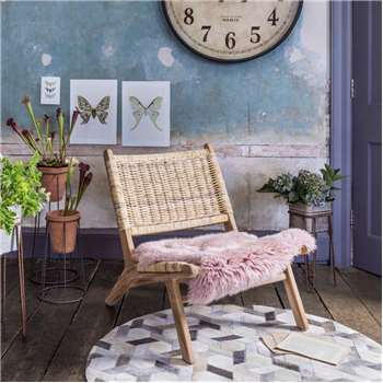 Nelson Wicker Chair (H64 x W79 x D75cm)