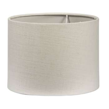 Neptune Iona Drum Lampshade with Diffuser - Warm White (H31 x W46 x D46cm)
