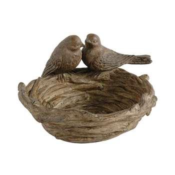Nesting Love Birds Bowl (13 x 19cm)