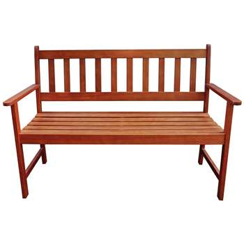 Newbury 4ft Garden Bench (H85 x W122 x D57cm)