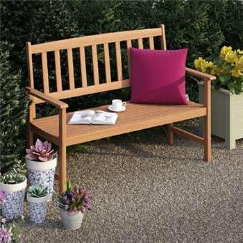 Newbury Wooden Bench (85 x 118.5cm)