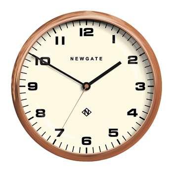 Newgate Clocks - Chrysler Wall Clock - Radial Copper (H40 x W40cm)