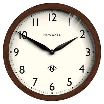 Newgate Clocks - Wimbledon Dark Wood Wall Clock (Diameter 45cm)