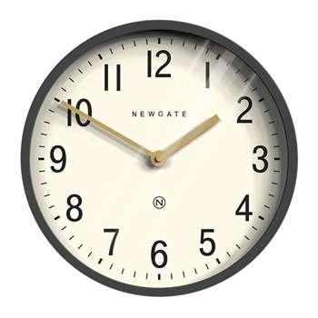 Newgate Clocks - Master Edwards Wall Clock - Blizzard Grey (H30 x W30 x D7cm)