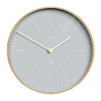 Newgate Clocks - Mr Clarke Wall Clock - Pill Blue Dial (Diameter 40cm)